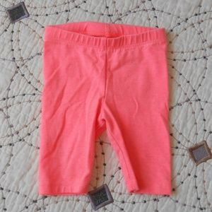 5/$10 Cat & Jack Knee Length Bright Coral Shorts
